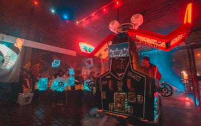 Agoran Robot unveiled at Lantern Festival!